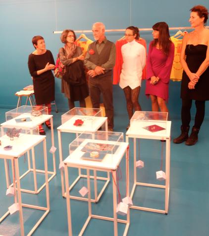 L'inaugurazione della mostra FiloRosso x Paris