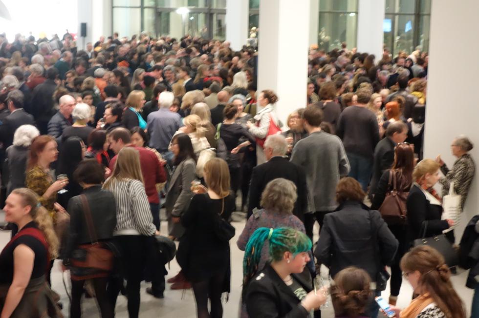 Die Neue Sammlung. la sera dell'inaugurazione della Danner Rotunda