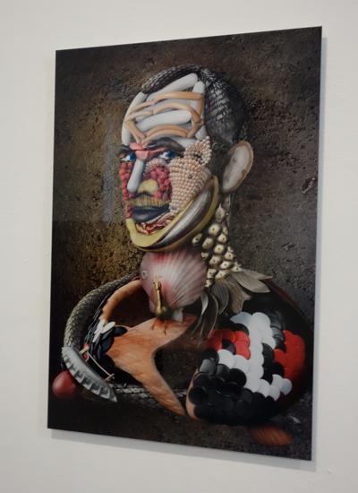 Ritratto di Arcimblander alias David Bielander