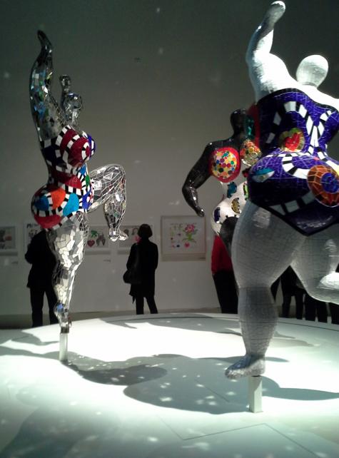 Niki de Phalle al Grand Palais di Parigi