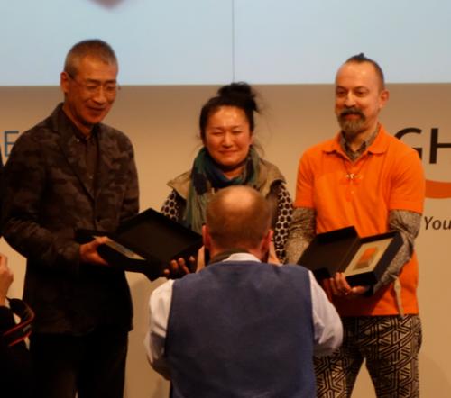 I tre vincitori dell'Hofmann Preis 2015