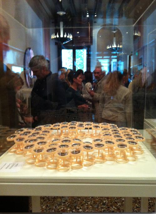 L'inaugurazione della mostra Jewelry VDW Selection, Venezia